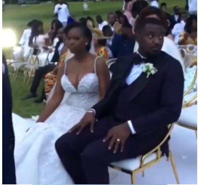 Checkout photos from John Dumelo's white wedding