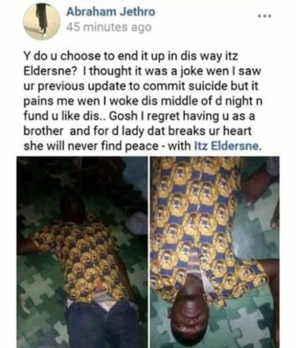 5FFB34D7 77C7 4DCA 9D9D 2C7A8C45712A - Nigerian man who faked his death explains why he did it