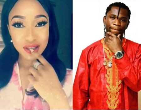 Y'ou will never lack any sexual pleasure' - Speed Darlington shoots his shot at Tonto