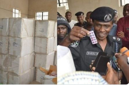 5ce025fdf2f8d - 303 cartons of tramadol intercepted by Kano state police command
