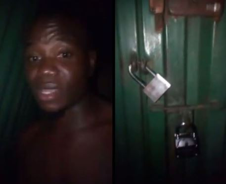 [Video]: 'I am unable to write my exam today' - Nigerian student cries as he reveals his landlord locked him in