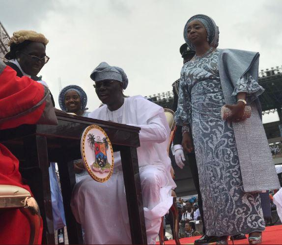 5cee647c0ff75 - Photos from Babajide Sanwo-Olu's swearing in