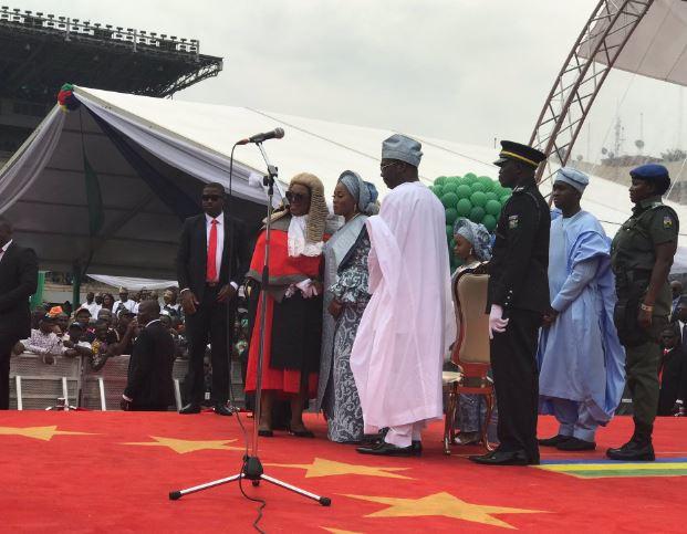 5cee649bd8424 - Photos from Babajide Sanwo-Olu's swearing in