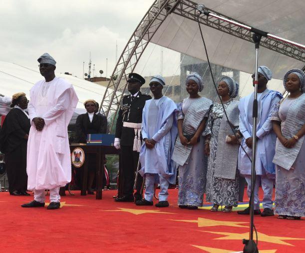 5cee64b978897 - Photos from Babajide Sanwo-Olu's swearing in