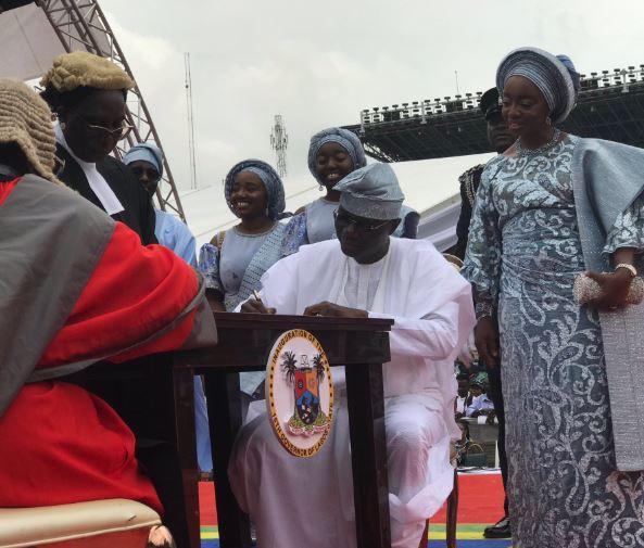 5cee64d1232e7 - Photos from Babajide Sanwo-Olu's swearing in