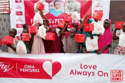 6 11 - Celebrating Our Future Super Heroes: itel Mobile Surprises Children Nationwide On Children's Day