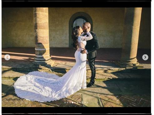 [Photos]: Kim Kardashian shares more stunning photos from her wedding