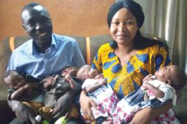 after 7 years of childlessness, couple welcome quadruplet
