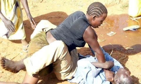 Furious wife stabs her husband for interrupting threesome with her lovers