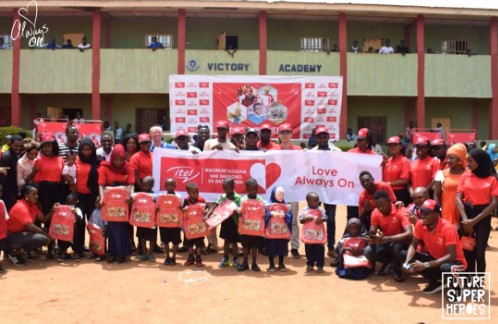 9 5 - Celebrating Our Future Super Heroes: itel Mobile Surprises Children Nationwide On Children's Day