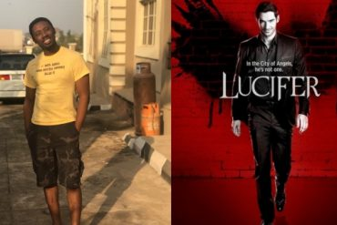 """'Ayamatanga' was worse!!! Nigerians come for Mike Bamiloye's son for speaking against a trending movie """"Lucifer"""""""