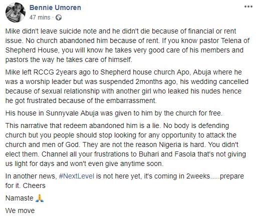 RCCG Pastor