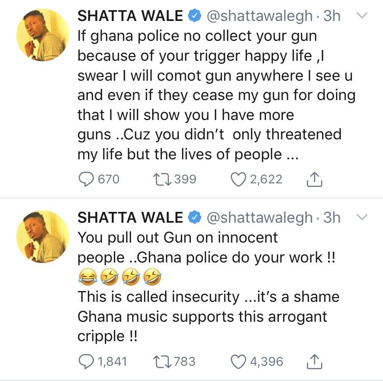9429232 c84ace067641407490c20686c5907195 jpeg jpeg20bac9fa52c9f4752a4707be3b13bf93 - 'I Will Shoot You' – Shatta Wale Threatens Stonebwoy