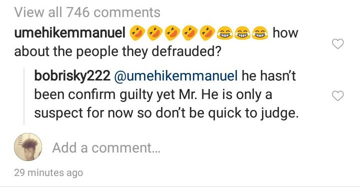 9438784 5ce2861021c4b jpeg3ba26ae9ee3d840588950305f4043373 - 'He Is Only A Suspect, Don't Be Quick To Judge' – Bobrisky Defends Naira Marley
