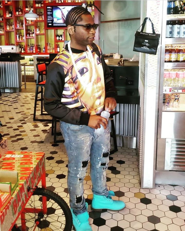 9489557 img20190527071010512 jpegb95bf5e5f6460a28b6d65d66e14c5ce3 - Instagram Sensation, Speed Darlington Blasts A Follower Who Advised Him On His Choice Of Clothes