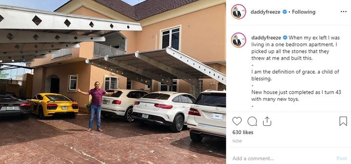 9500402 daddy1 jpegf1a4558f710c78d7f17e6d25651ad494 1 - Daddy Freeze Mocks Blogger, Blessing Okoro Hours After Blaming Church