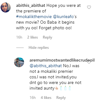 Aremu Afolayan Shades Brother On Absence At 'Mokalik' Premiere