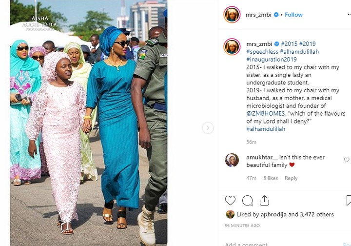 9524333 zahrabuharirecountschangessinceherfatherbecamepresidentunclesuru1 jpeg53862c9e2d4c40307437486b384725c2 - Zahra Buhari Recounts How Things Have Changed Since 2015