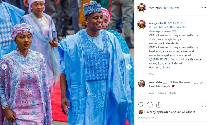 9524334 zahrabuharirecountschangessinceherfatherbecamepresidentunclesuru2 jpeg8f1cf46cdfdad656f97db30cd92b4ff2 - Zahra Buhari Recounts How Things Have Changed Since 2015