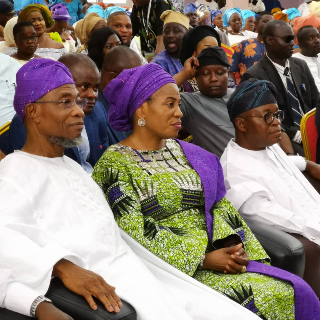9672f595 fd81 40ac a7c4 21c34529fd14 1 - [Photos]: Oni Of Ife, Adegboyegha Oyetola, others storm the 62nd birthday event of Rauf Aregbesola