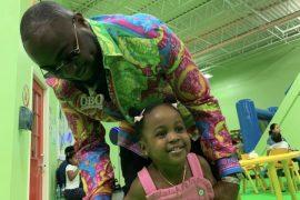 [Photos]: Davido flies down to Atlanta to celebrate his daughter Hailey's 2nd birthday