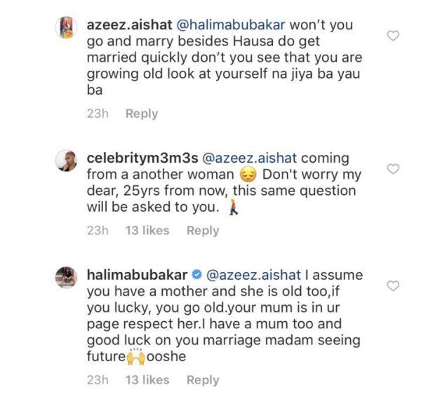 9B76ECC7 C44B 4677 90E2 9727A5EB6968 1 - Savage! Halima Abubakar blasts a disrespectful follower