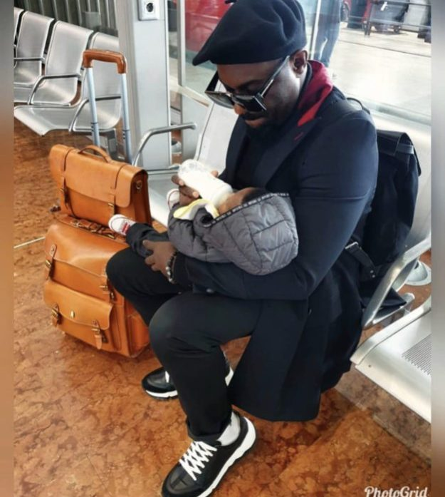 Jim Iyke cries for 20 minutes after separating from his son
