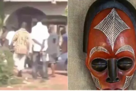 Popular herbalist storms into a church to collect his charm from a pastor