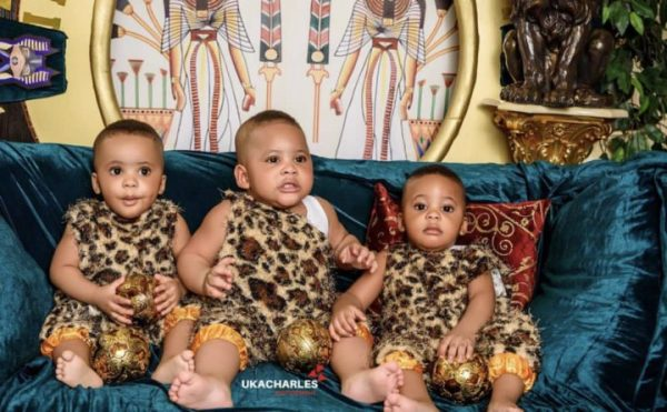 [Photos]: Fani Kayode's wife shares Egyptian themed photos from her birthday shoot