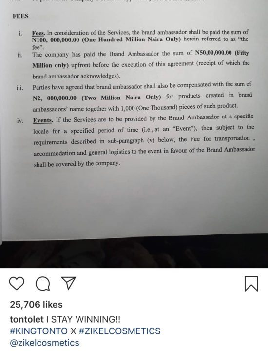 DE8F61F1 65CB 4EF4 BB80 1AB872EF76E7 - Tonto Dikeh blasts troll who doubted her N100 million endorsement deal