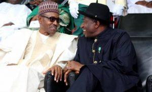 Jonathan and Buhari 1 300x182 - One Main Reason You Can't Compare Buhari With Goodluck Jonathan – Reno Omokri