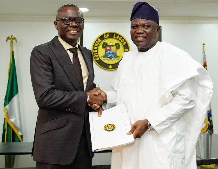 What Sanwo-Olu told Ambode on his birthday today