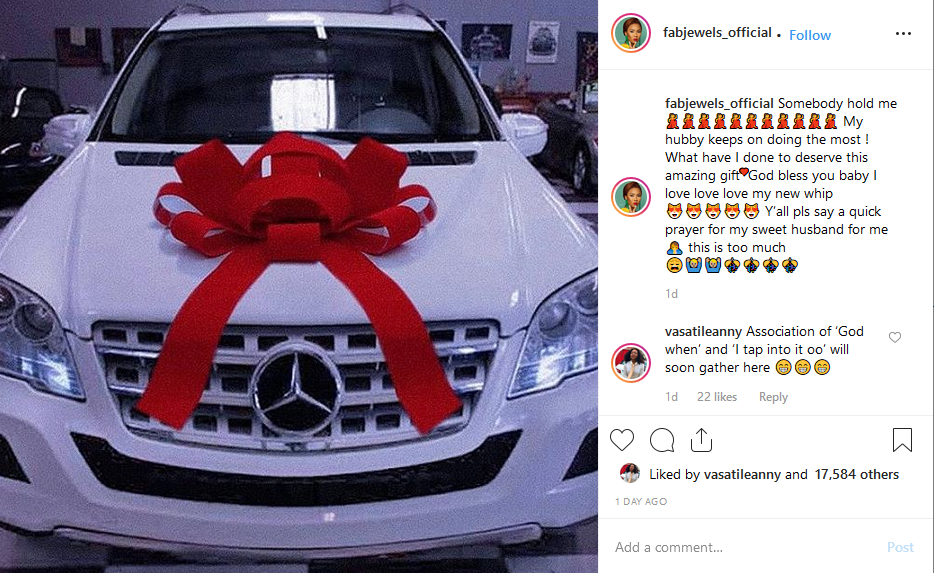 Screenshot 18 - [PHOTO]: Yomi Casual buys his wife a Mercedes Benz To Celebrate Her Birthday