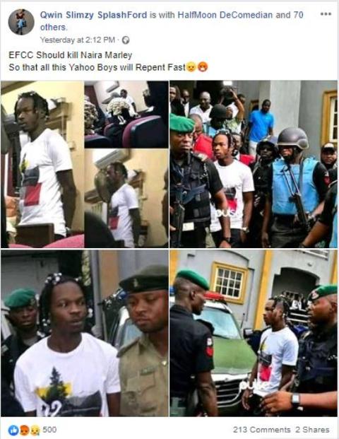 EFCC should kill Naira Marley