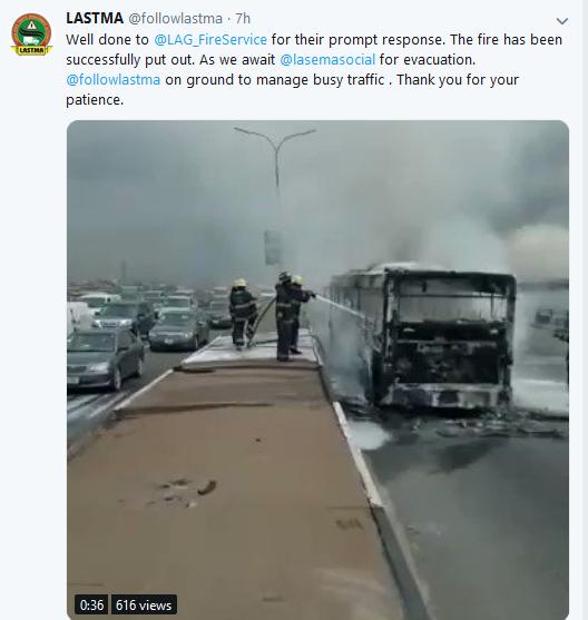Screenshot 34 - Lagos Fire Service Quench BRT Bus That Got Razed By Fire
