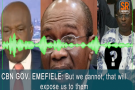 [Audio]: Central Bank Governor Emefiele, Deputy Adamu, others caught on discussing how to cover up N500bn stolen from CBN