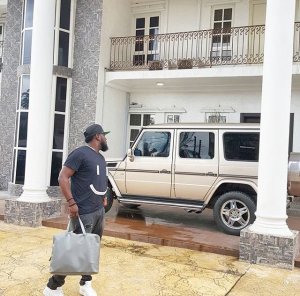 "Timaya House 300x296 - ""Off to AMERICA to charge my phone"" – Timaya Says As He Releases Photo"