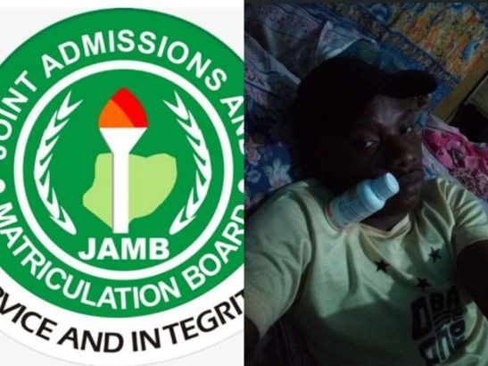 Young man attempts suicide with Sniper after failing JAMB