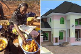 "banker Shares how an ""Akara"" seller became a landlord in front of her very eyes."