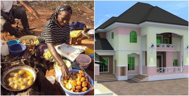 """banker Shares how an """"Akara"""" seller became a landlord in front of her very eyes."""