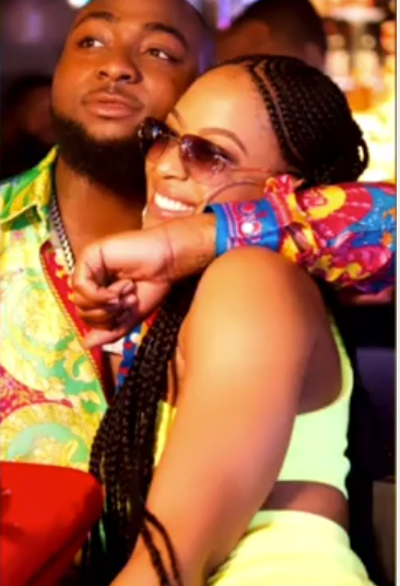 See What Chioma Posted After Davido Was Spotted With Second Baby Mama, Mandy