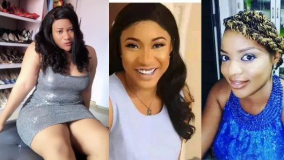 More Drama: Nkechi Blessing Takes Side With Tonto Dikeh, Shares That Funke Adesiyan Gets Beaten By Husband