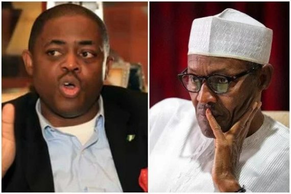 Femi Fanikapode and President Buhari
