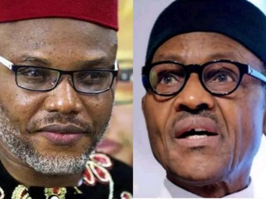 'You are mad and insane' - Nnamdi Kanu comes for FG for honoring Abiola instead of Aguiyi Ironsi