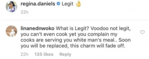 "daniels 300x120 - One Of Ned Nwoko's Wife Accuses Regina Daniels Of Using ""Voodoo"" On Husband"