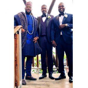Desmond Elliot Spotted At John Dumelo's Wedding