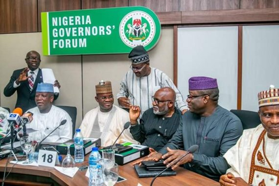 What Fayose Said After Fayemi Becomes Chairman of the Nigeria Governors' Forum (NGF).