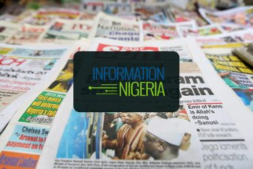 Nigerian Newspaper Headlines Today: 22nd November 2019