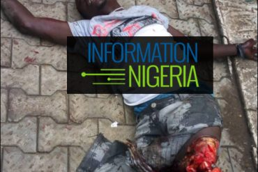 Graphic!!! Man's legs sliced off after he jumped off a moving train at Ikeja
