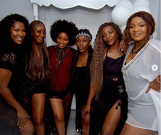 Falz gushes about Genieve, Omotola, Uche Jombo, Ini Edo and Stephanie Okereke's photo